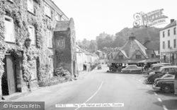 Dunster, Yarn Market And Castle c.1960