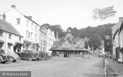 Dunster, Yarn Market c.1950
