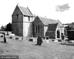 Duntisbourne Abbots, St Peter's Church c.1960