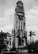 Durban, Great War Memorial (Cenotaph) c1939
