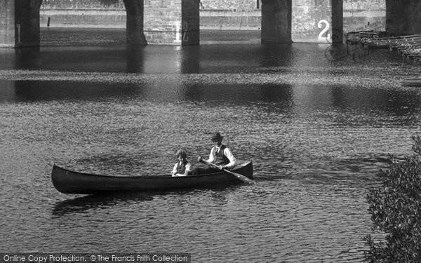 Photo of Durham, Boating 1918