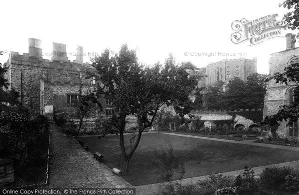 Photo of Durham, Castle, Fellows Garden 1892, ref. 30760