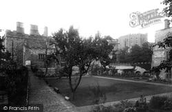 Castle, Fellows Garden 1892, Durham