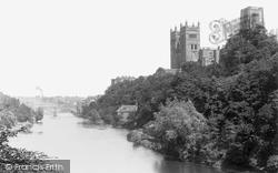 Durham, Cathedral From Bridge c.1890