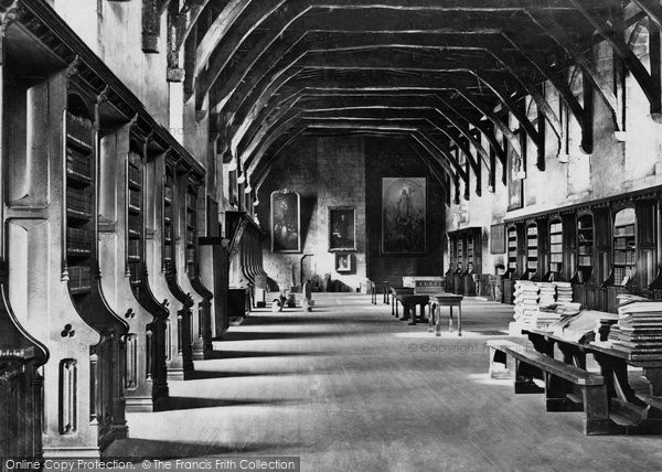 Photo of Durham, Cathedral Library c.1877