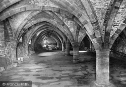 Cathedral, The Undercroft 1921, Durham