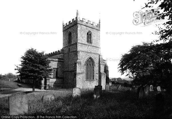 Photo of Durham, St Giles' Church 1918, ref. 68228