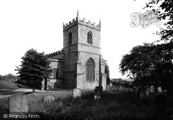 Church Of St Giles 1918, Durham