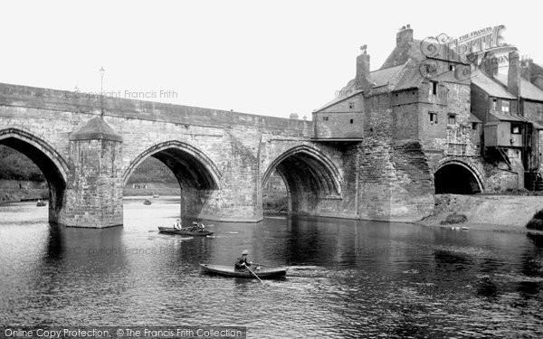 Photo of Durham, Elvet Bridge 1918, ref. 68235