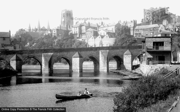 Photo of Durham, Elvet Bridge 1918, ref. 68236