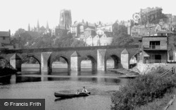 Elvet Bridge 1918, Durham