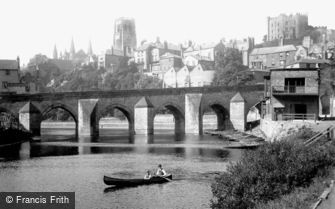 Durham, Elvet Bridge 1918