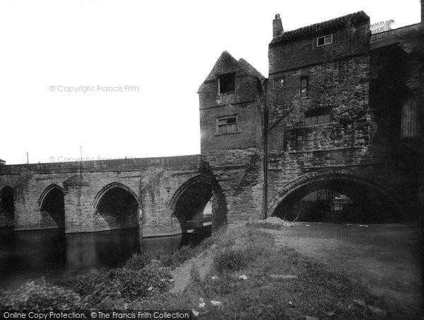 Photo of Durham, Elvet Bridge 1923, ref. 74087