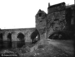 Elvet Bridge 1923, Durham