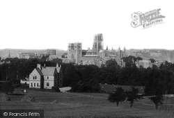 From Observatory Hill 1892, Durham