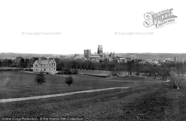 Photo of Durham, From The Observatory c.1883