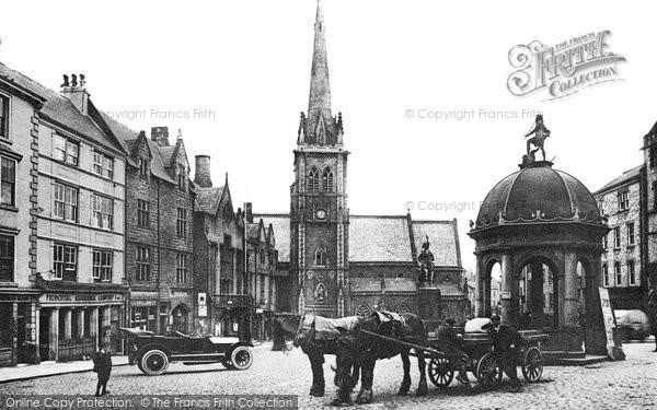 Photo of Durham, Market Place c1915, ref. d71301