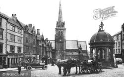 Market Place c.1915, Durham