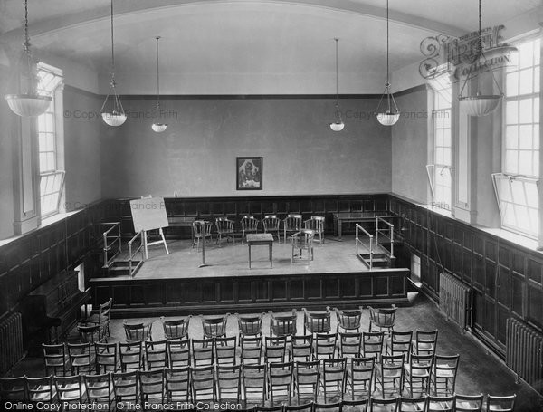 Photo of Durham, Neville's Cross College Assembly Hall 1923, ref. 74097