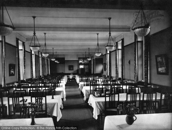 Photo of Durham, Neville's Cross College, Dining Hall 1923, ref. 74098
