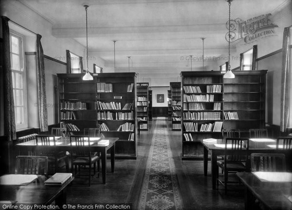 Photo of Durham, Neville's Cross College Library 1923
