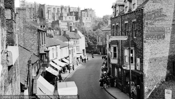 Photo of Durham, North Road c1955, ref. d71059
