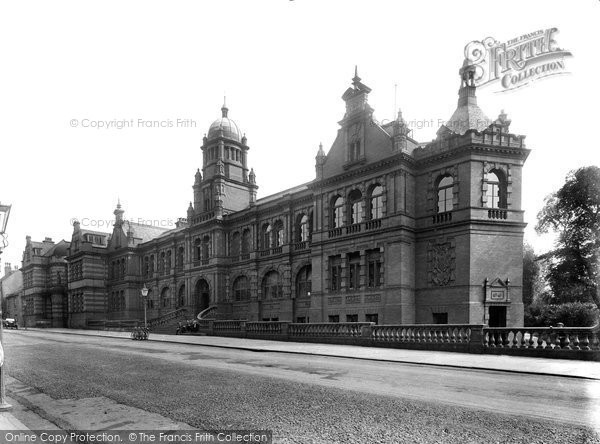 Photo of Durham, Shire Hall 1921, ref. 70729