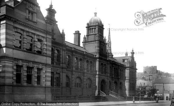 Photo of Durham, Shire hall 1921, ref. 70730
