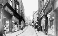 Durham, Silver Street c1955