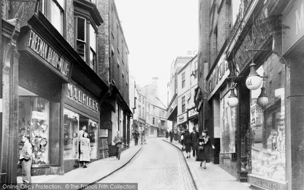 Photo of Durham, Silver Street c1955, ref. d71024