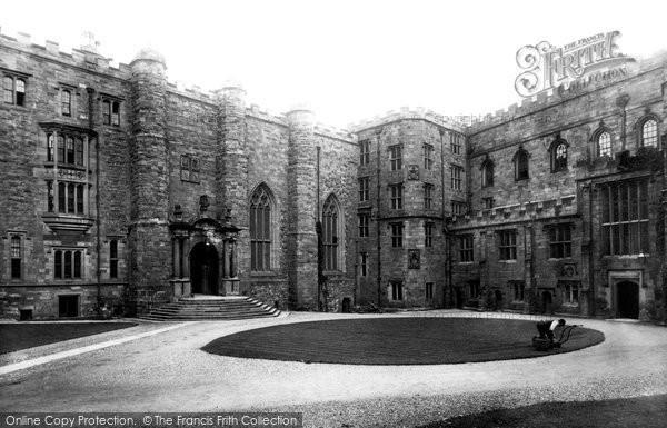 Durham, the Castle 1892