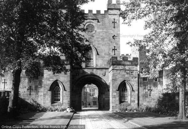 Photo of Durham, the Castle c1955, ref. d71035