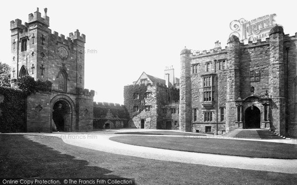 Photo of Durham, The Castle Courtyard 1918