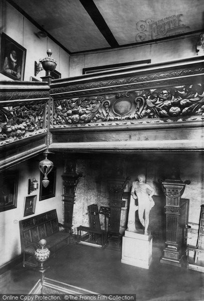 Photo of Durham, The Castle, The Black Staircase 1892