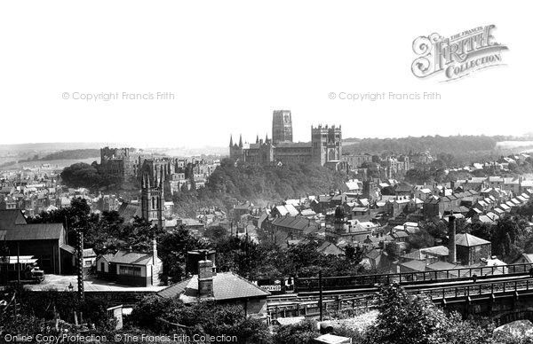 Photo of Durham, the Cathedral 1923, ref. 74079