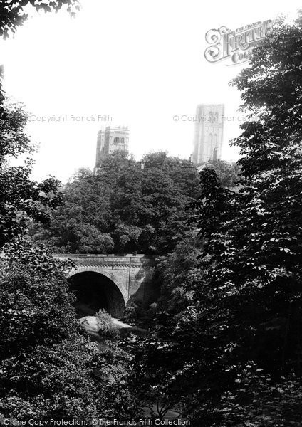 Photo of Durham, the Cathedral and Prebends Bridge 1892, ref. 30738