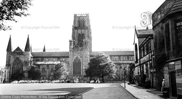 Photo of Durham, the Cathedral c1955, ref. d71036