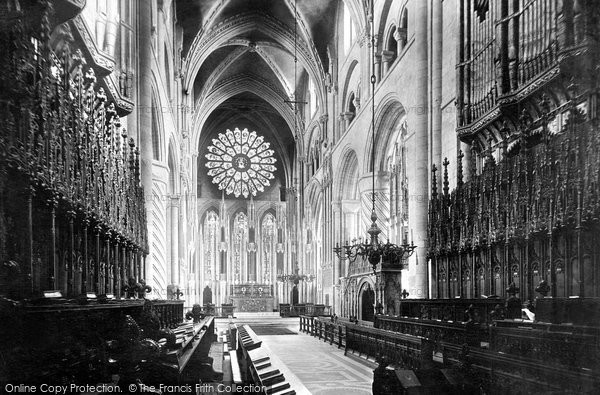 Photo of Durham, The Cathedral Choir, East 1892