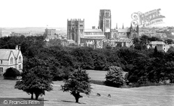 The Cathedral From Observatory Hill 1918, Durham