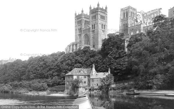 Photo of Durham, The Cathedral From The River Wear 1892