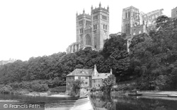 The Cathedral From The River Wear 1892, Durham
