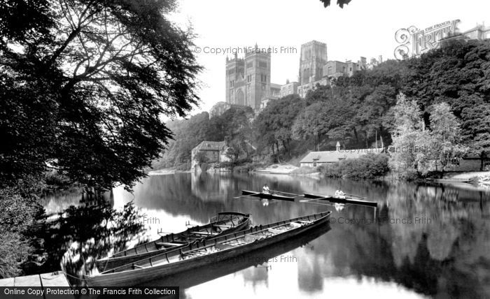 Photo of Durham, the Cathedral from the River 1921, ref. 70712