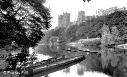 The Cathedral From The River Wear 1921, Durham