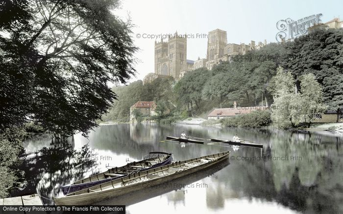 Photo of Durham, The Cathedral From The River Wear 1921