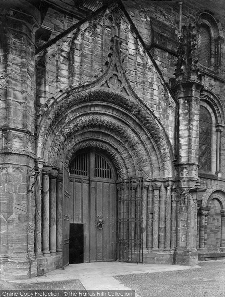 Photo of Durham, The Cathedral, North Door 1923