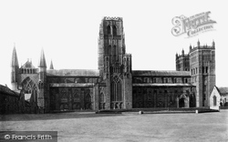 The Cathedral, North Side c.1883, Durham