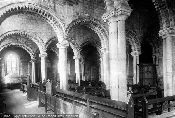 Photo of Durham, the Cathedral, the Galilee 1892, ref. 30753