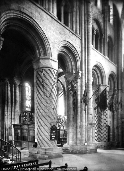 Photo of Durham, The Cathedral, The Memorial Chapel 1925