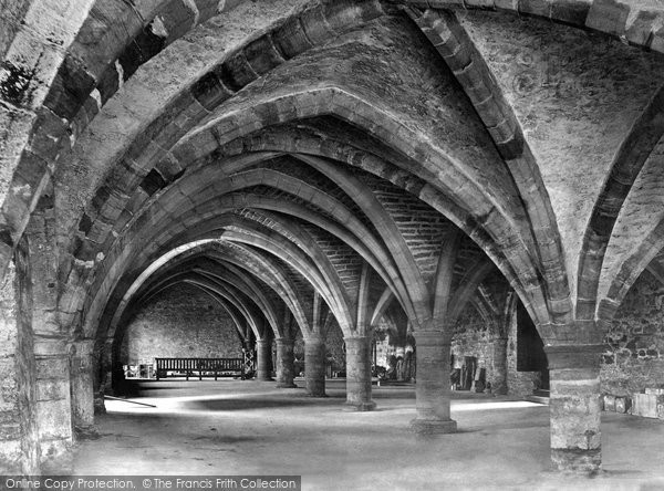 Photo of Durham, the Cathedral, the Undercroft c1862, ref. 1119