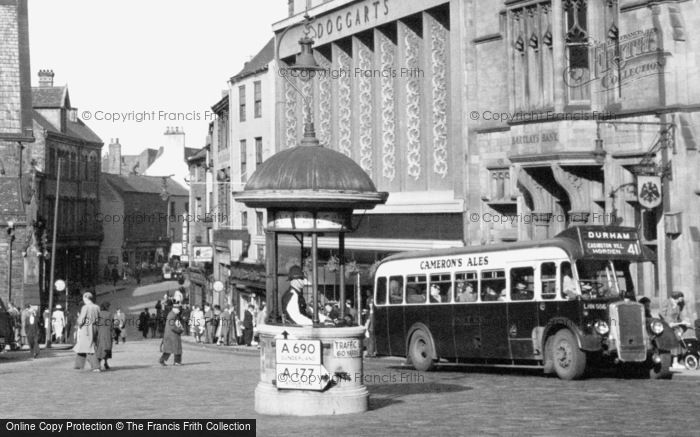 Photo of Durham, The Traffic Policeman 1954